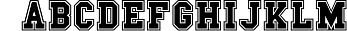 The Sport Champs Font Pack 1 Font LOWERCASE