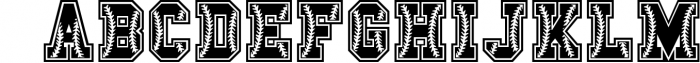 The Sport Champs Font Pack 2 Font UPPERCASE