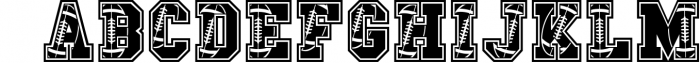 The Sport Champs Font Pack Font UPPERCASE