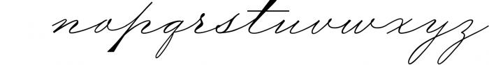 The Wedding Script & Invitation set 4 Font LOWERCASE