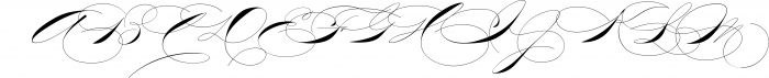 The Wedding Script & Invitation set 5 Font UPPERCASE