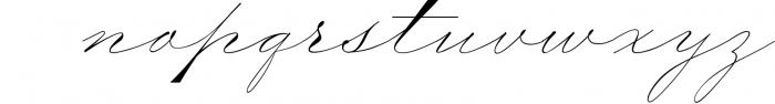 The Wedding Script & Invitation set 5 Font LOWERCASE