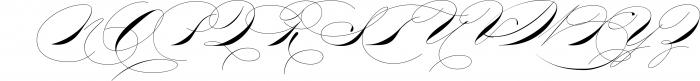 The Wedding Script & Invitation set 8 Font UPPERCASE