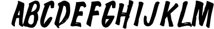 The Wolfman SignPainted 1 Font UPPERCASE