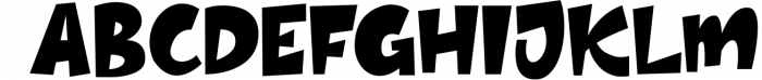 Thick - Layered Font 2 Font UPPERCASE