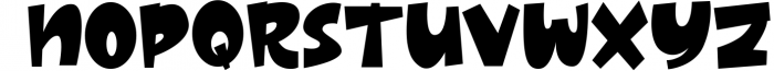 Thick - Layered Font 2 Font LOWERCASE