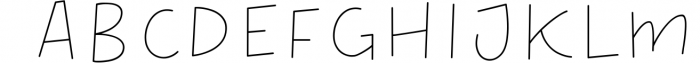 Thick - Layered Font Font LOWERCASE