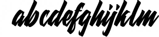 Thorky Font LOWERCASE