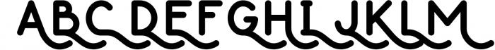 Thousand Lake - Handmade Font 3 Font UPPERCASE