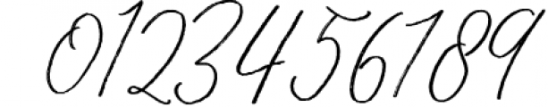 Throug Brush Font OTHER CHARS