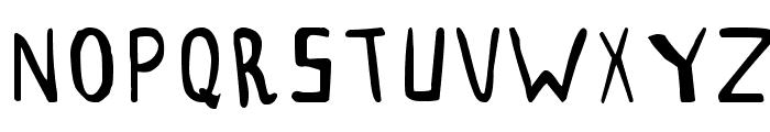 THESORDEN Font UPPERCASE