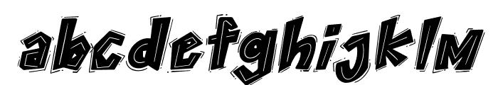 THEYGI Italic Font LOWERCASE