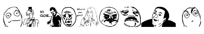 THEmemefont Font OTHER CHARS