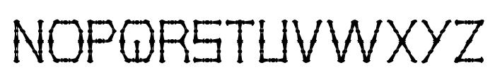 THIN DECORATIVE Font UPPERCASE