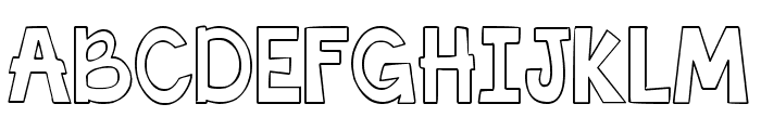 THIS FONT IS EMPTY Bold Font UPPERCASE