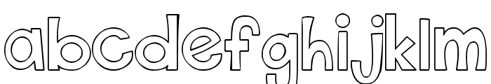 THIS FONT IS EMPTY1 Bold Font LOWERCASE