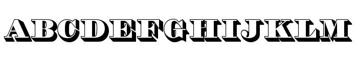 THOrneShadedOpti Font LOWERCASE