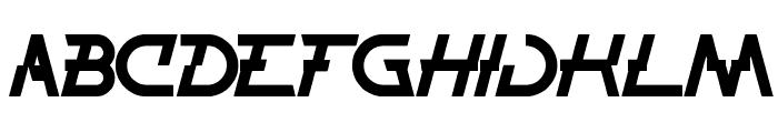 THUNDER JAGGER Font LOWERCASE