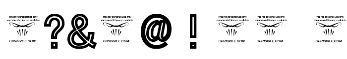 Tha Cool Kidz Black Font OTHER CHARS