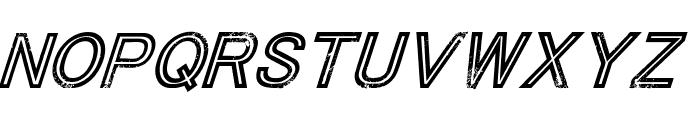 Tha Cool Kidz Italic Font UPPERCASE