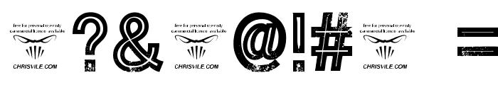 Tha Cool Kidz Regular Font OTHER CHARS