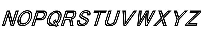 ThaCoolKidz-BlackItalic Font UPPERCASE