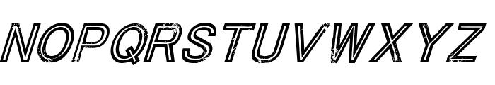 ThaCoolKidz-Italic Font UPPERCASE