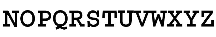 Thabit-Bold Bold Font UPPERCASE