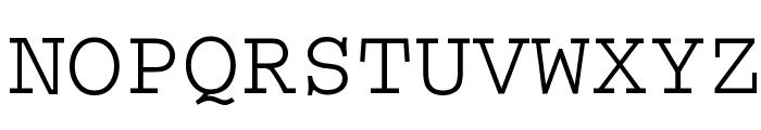 Thabit Font UPPERCASE