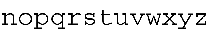 Thabit Font LOWERCASE
