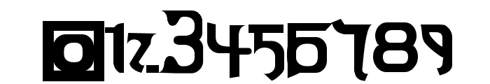 Thai OneOn Font OTHER CHARS