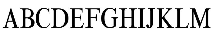 ThamesCondensed Regular Font UPPERCASE