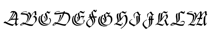 ThannhaeuserZier Font UPPERCASE