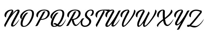 Thany Font UPPERCASE