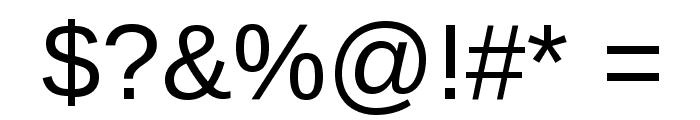 TharLon Font OTHER CHARS