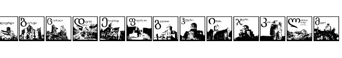 Thart_OldGeorgianArchitecture Font LOWERCASE
