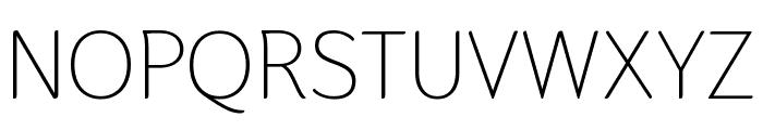 Thasadith Regular Font UPPERCASE