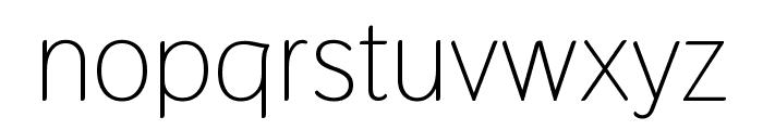 Thasadith Regular Font LOWERCASE