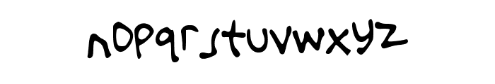 That_There_Paul Font LOWERCASE