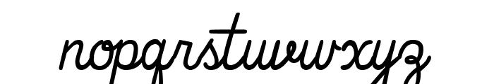 That's Font Folks! Italic Font LOWERCASE