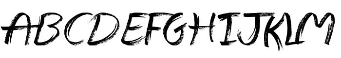 The Abandoned Treasure Font UPPERCASE