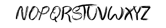 The Abandoned Treasure Font LOWERCASE