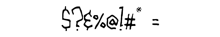 The Alchemist Font OTHER CHARS