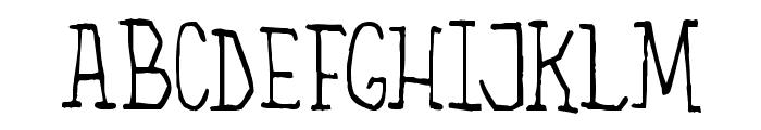 The Alchemist Font UPPERCASE