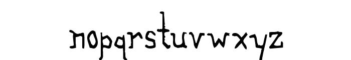 The Alchemist Font LOWERCASE