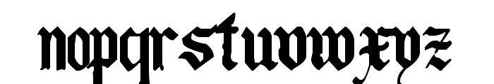 The Art of Illuminating Font UPPERCASE