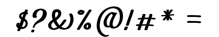 The Athalita Font OTHER CHARS