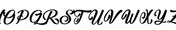 The Athalita Font UPPERCASE