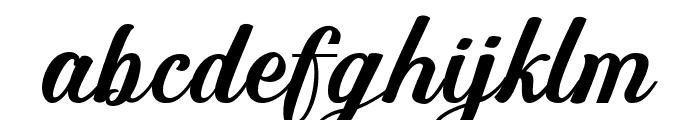 The Athalita Font LOWERCASE