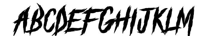 The Black Festival Font UPPERCASE